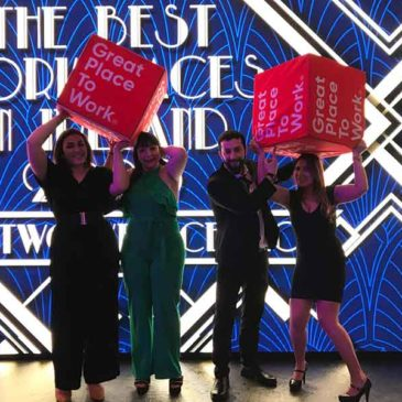 Greenlife Tours named as one of the Best Workplaces in Ireland